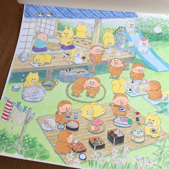 絵本原画展、5月9日まで開催中!